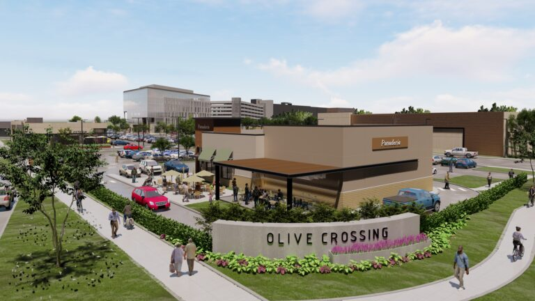 Olive Crossing front rendering